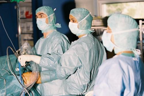 Arthroskopie Kniegelenk 1