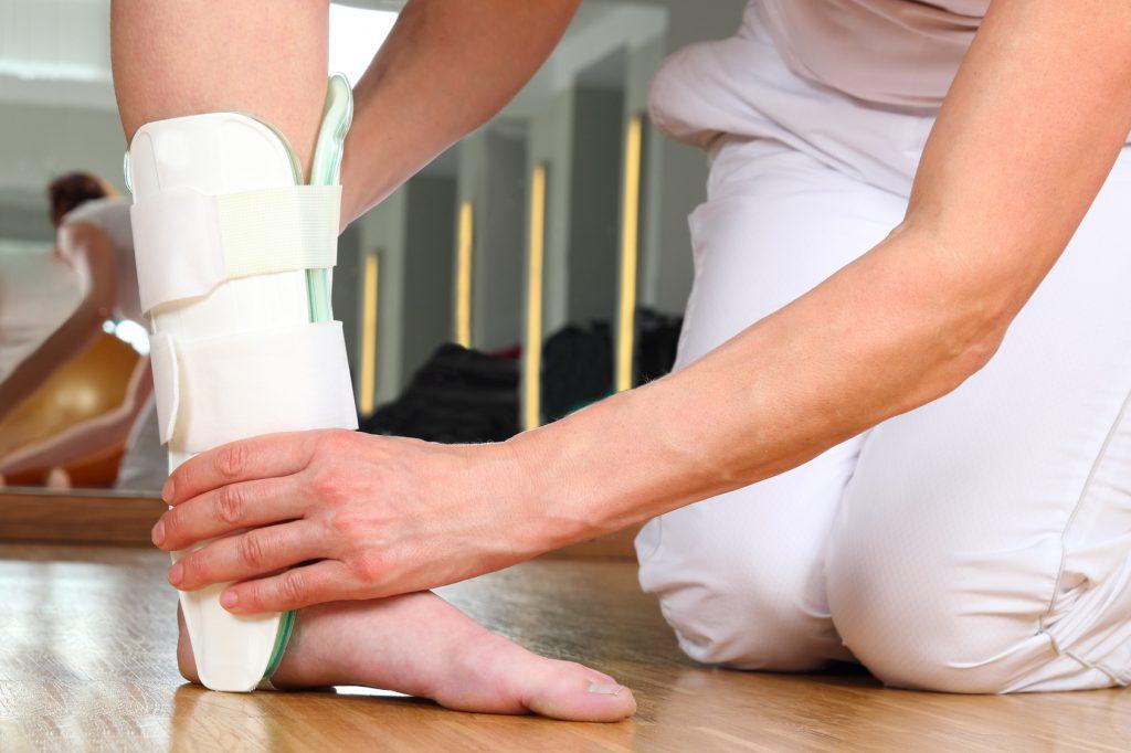 Umknicktrauma des Fußes 1
