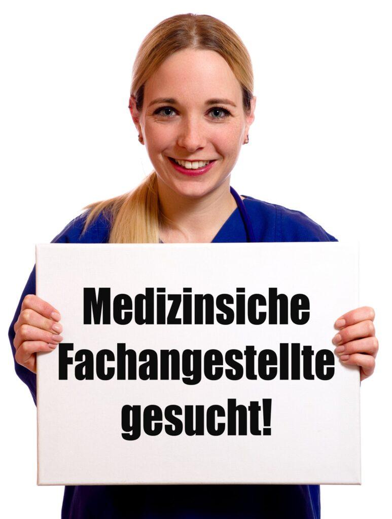 Medizinische Fachangestellte (Vollzeit/Teilzeit) zu sofort gesucht! / Ausbildung zur Medizinischen Fachangestellten 2021 1