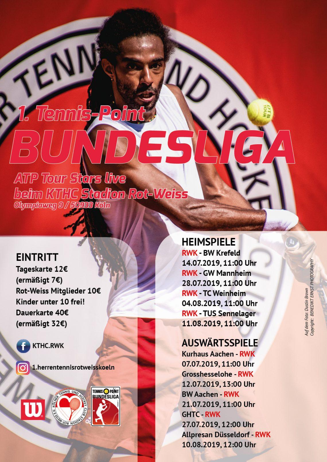 Die Tennissaison im Rot-Weiss beginnt 2